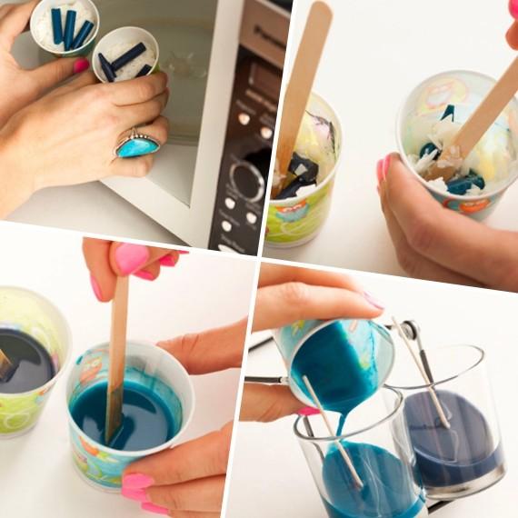 Как сделать свечки в домашних условиях своими руками 201
