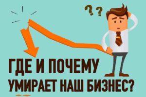 Как понять что бизнес умирает