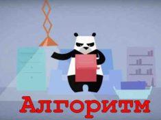 Панда алгоритм Google