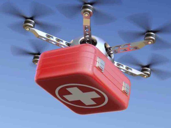 Квадрокоптер для доставки грузов