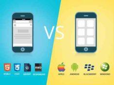 Мобильное приложение или мобильная версия сайта что лучше