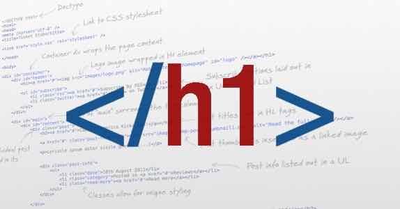 Как базовый заголовок страницы h1 влияет на продвижение