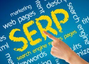 Поисковая выдача сайта SERP