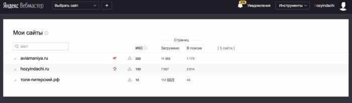 Как проверить ИКС сайта