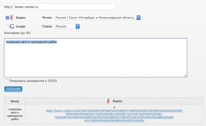 Продвижение сайта в Яндексе по ключевым словам