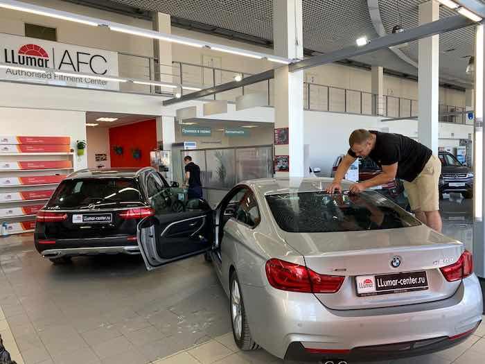 Продвижение сайта по тонировке и покрытию керамикой автомобилей - МОЙ КЕЙС