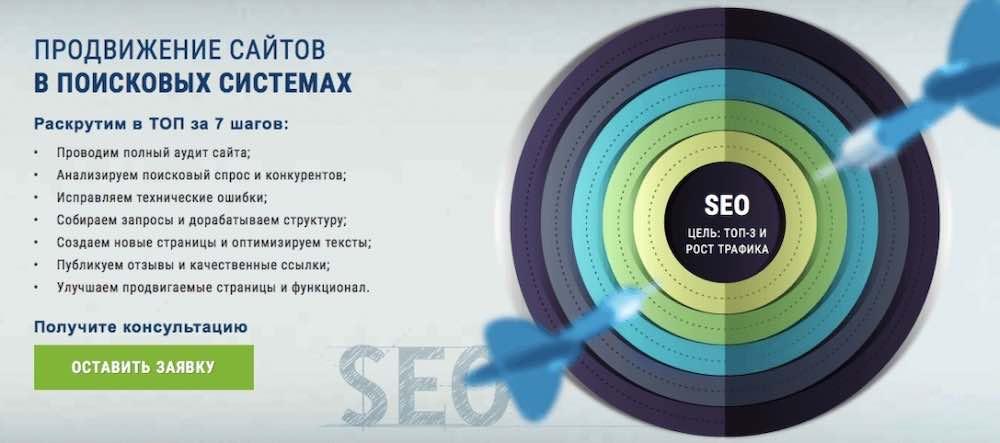 Продвижение сайта в поисковых системах Москва