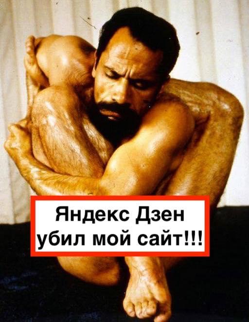 Яндекс Дзен убивает сайты