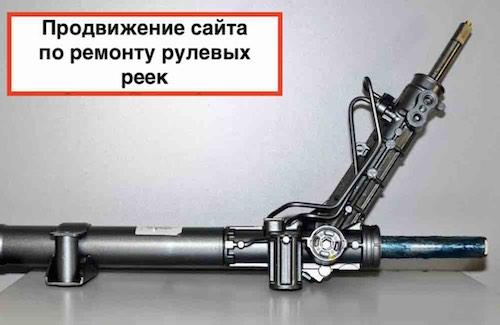 Продвижение сайта spb.rulevaja-rejka.ru на WordPress