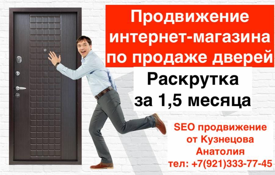 Продвижение интернет-магазина по продаже дверей