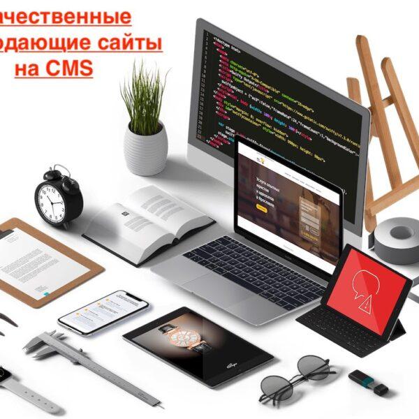 Создание и продвижение сайта с системой управления