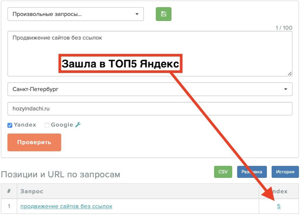Продвижение в Яндекс с помощью доработки текстов